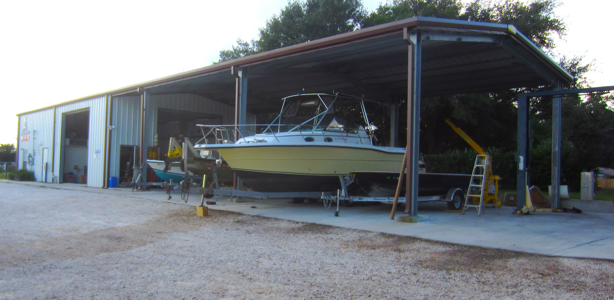 Boat services. Jacksonville Fl | Fish Camp Marine